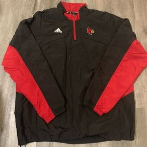 Adidas Louisville Cardinals Windbreaker (LG)